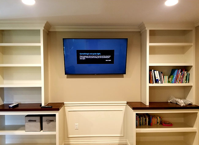 Space and Style Jarbcom TV Mounting